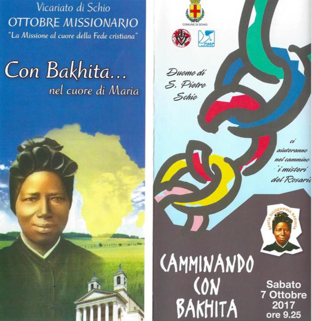 Ottobre Missionario, camminando con Bakhita