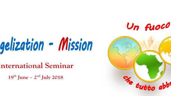 Evangelization and Mission Seminar: the full program