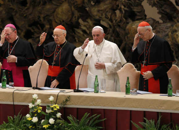 United in prayer for the Synod