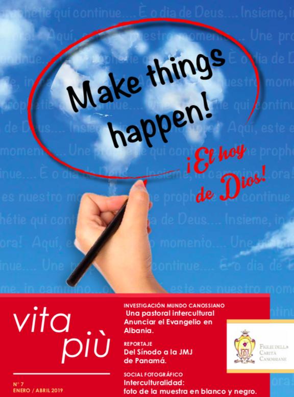 La interculturalidad es el camino! Nuevo número de VitaPiù