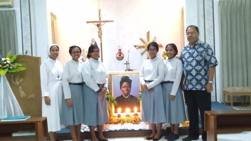 The Feast of St. Bakhita in Jakarta