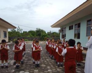 The Canossian School in Kasongan