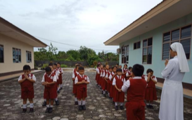 The Canossian School in Kasongan