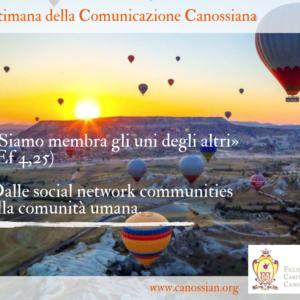 Settimana della Comunicazione Canossiana: a servizio della cultura dell'incontro