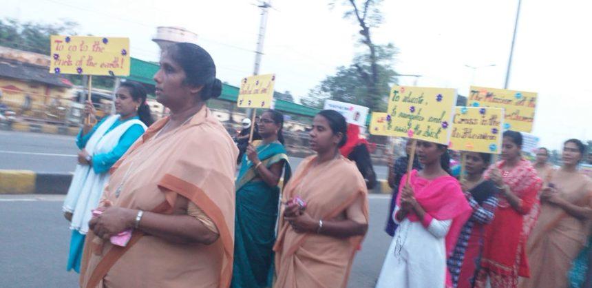 Extraordinary missionary month rally – Andra Pradesh