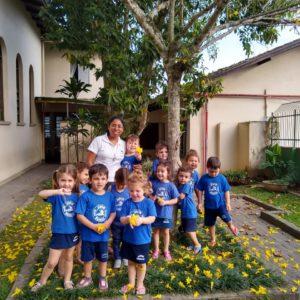 A primavera no Jardim Bakhita – Brazil