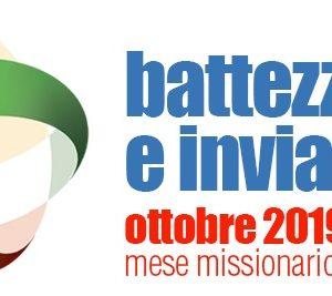 Ottobre 2019, Mese Missionario Straordinario