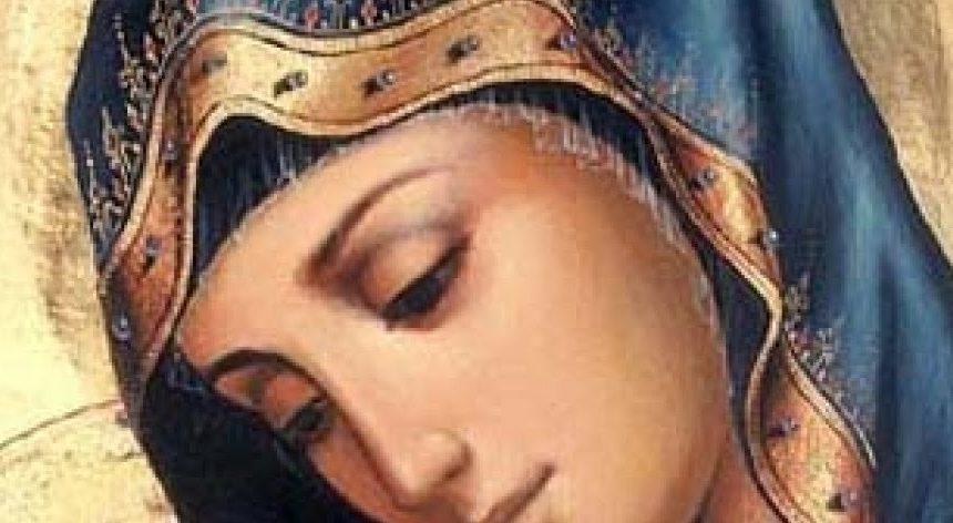 In preghiera con l'Immacolata