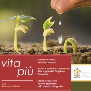 """Online il nuovo VitaPiù, """"Donne della Parola"""""""