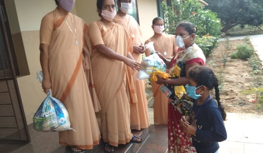 Bringing Relief to Local Communities hit by Covid in Kerala