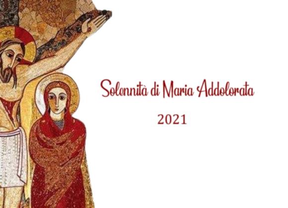 Solennità di Maria Addolorata 2021. Messaggio della Madre Generale